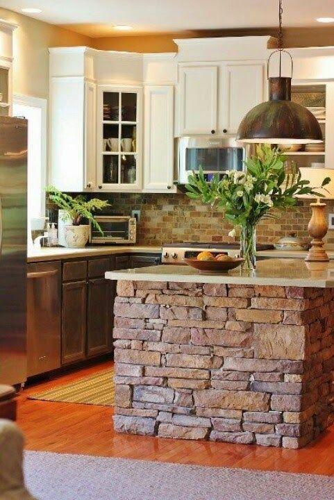 Cuáles son los elementos que definen una cocina rústica