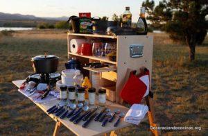 Minicocina para días de campo