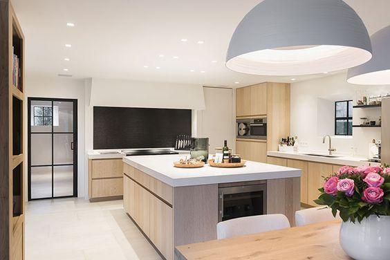 Decoración de interiores modernas para cocinas - Ideas Bonitas Para