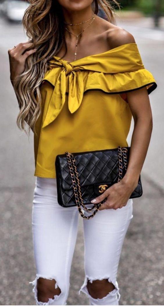 Blusas amarillas 2018