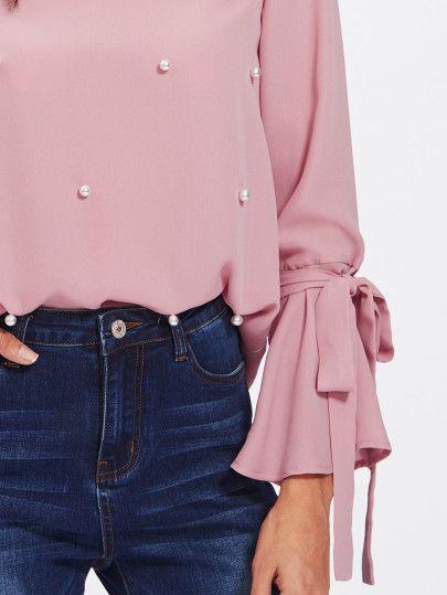 Blusas color rosa 2018