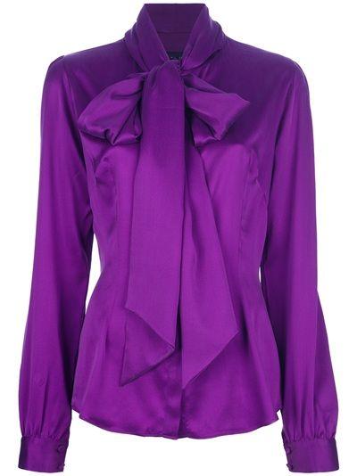 Blusas moradas de moda formales