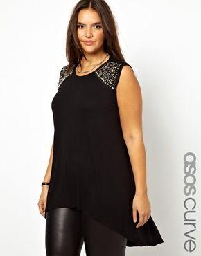 46d911055e Blusas negras elegantes para gorditas - Ideas Bonitas Para