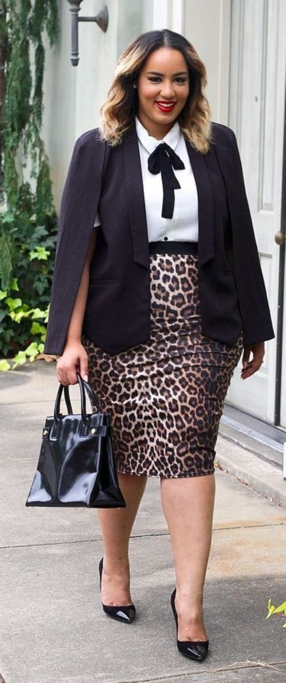 Blusas para ejecutivas talla grande