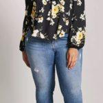 Imágenes de blusas de hombros descubiertos para gorditas