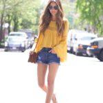 Imágenes de blusas de moda amarillas