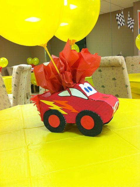 recuerdos de cumpleaños de cars