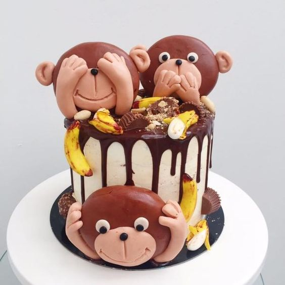 Pastel O Torta De Changuitos Para Baby Shower Ideas Bonitas Para