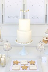Pastel O Torta Elegantes Para Baby Shower