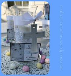 recuerdos originales para bautizo en mesa