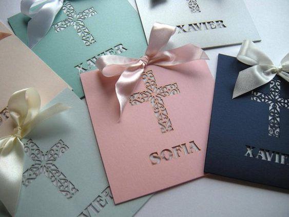 tarjetas de invitacion creativas para comunion