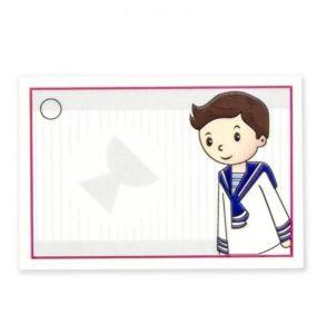 tarjetas para comunion de niño