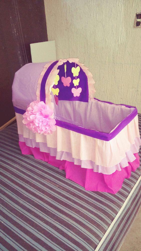 Que Regalos Pedir En Un Baby Shower.Cuna De Regalos Para Baby Shower Ideas Bonitas Para