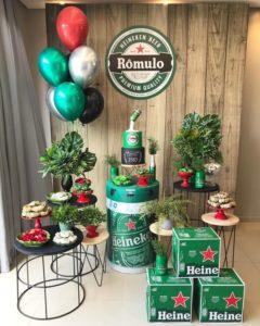 Como decorar una mesa de cumpleaños para adultos elegantes