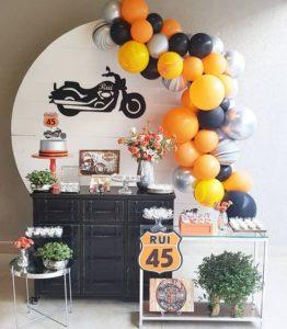 Cumpleaños de adultos en casa