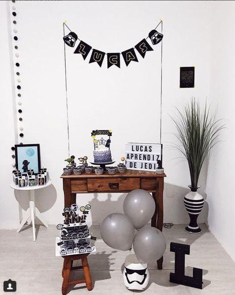 Decoraciones sencillas para fiestas de hombre