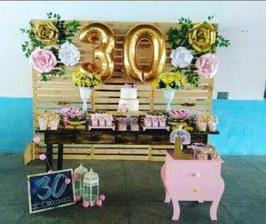 Fiesta de 30 años para mujeres