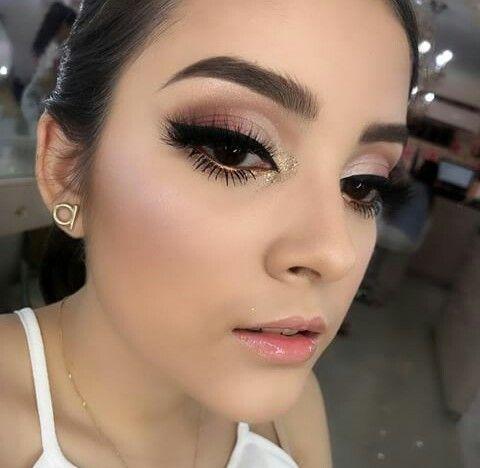 Maquillaje sencillo para quince años