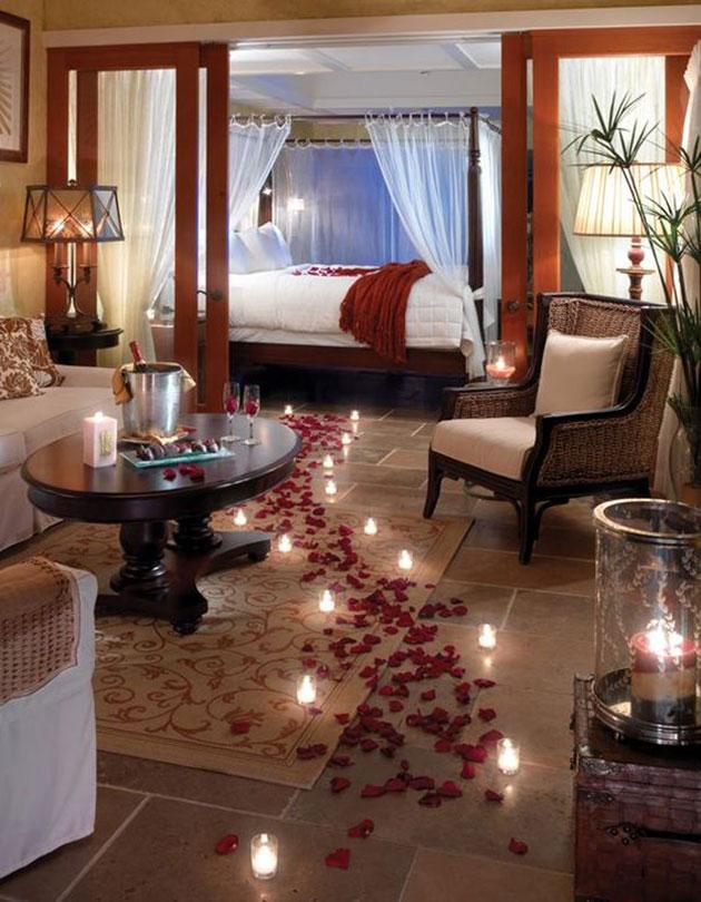 decorar dormitorio san valentin