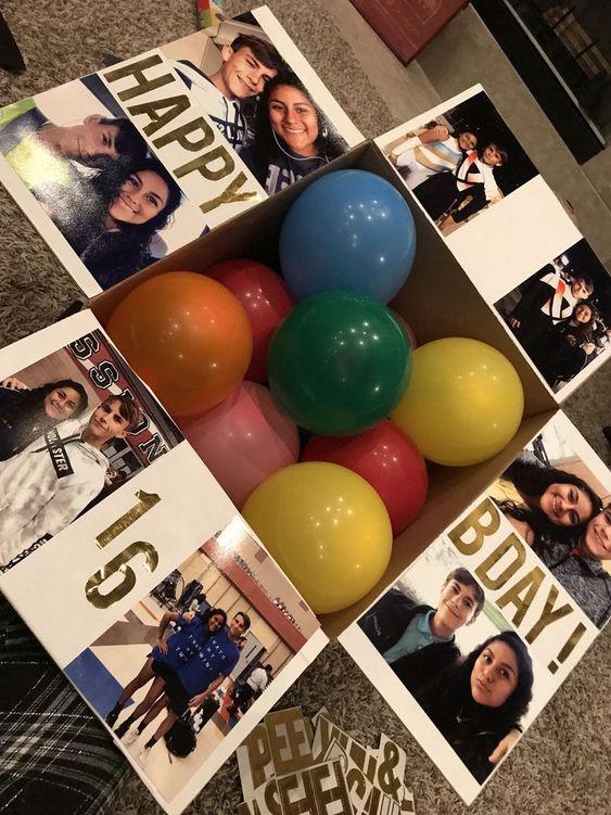 Manualidades originales para cumpleaños de mi novio