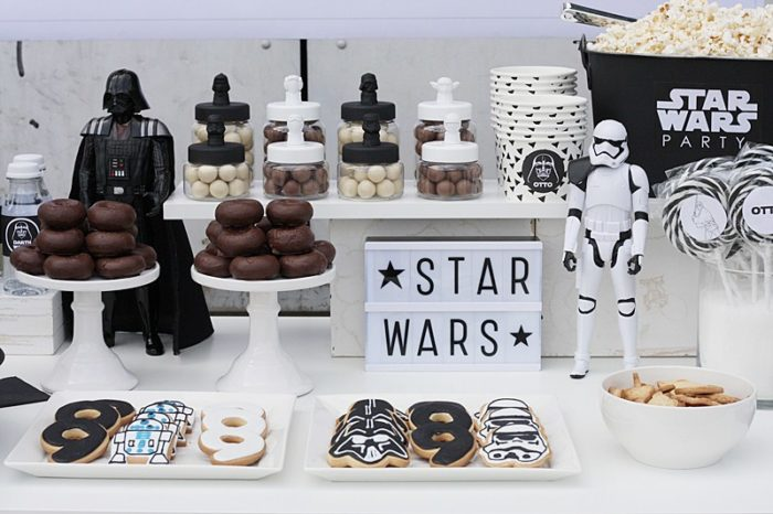 Cumpleanos de star wars ideas