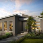 diseños de techos inclinados de casas pequeñas