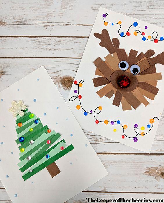 manualidades de navidad para niños de infantil