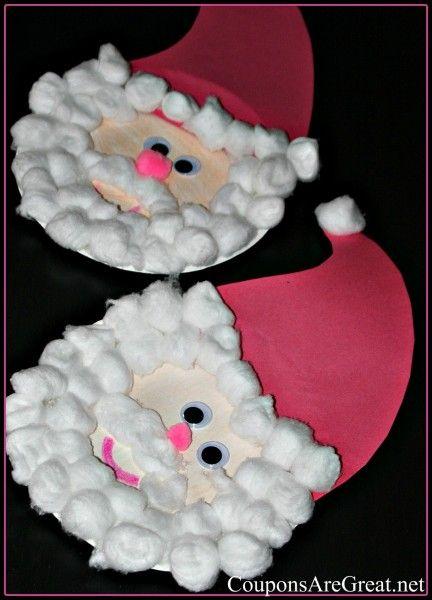 manualidades de navidad para niños de preescolar