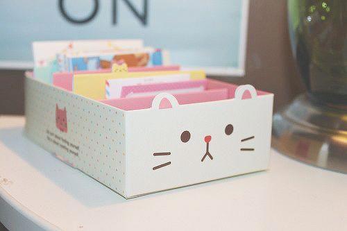 Manualidades kawaii con carton