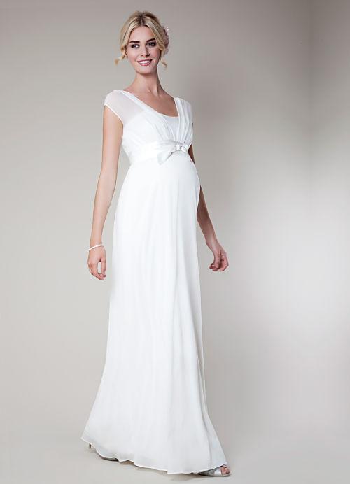 59e4cc34a Los mejores vestidos de novia para embarazadas - Ideas Bonitas Para
