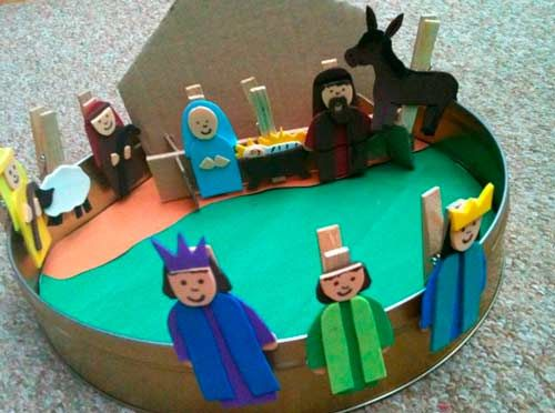 manualidades para niños cristianos en foami