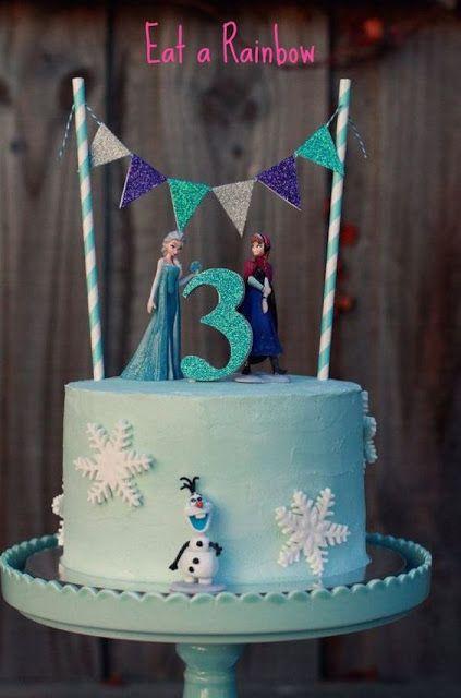 Pasteles para fiesta de cumpleaños de frozen