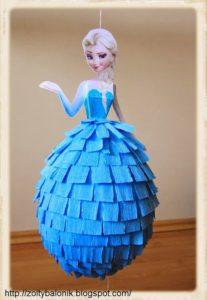 Piñatas para fiesta de frozen