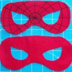 Antifaces de spiderman