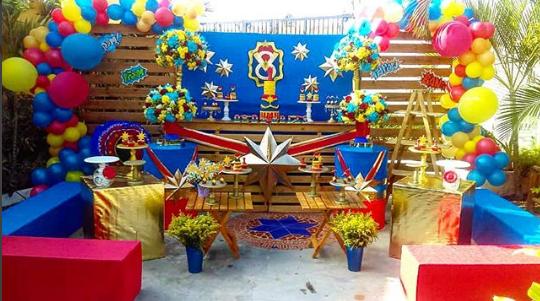 Decoración de fiestas infantiles 2018
