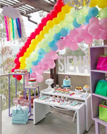 Decoración de fiestas infantiles con globos