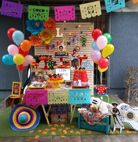 Fiesta infantil de coco