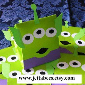 fiesta tematica de luis y los aliens