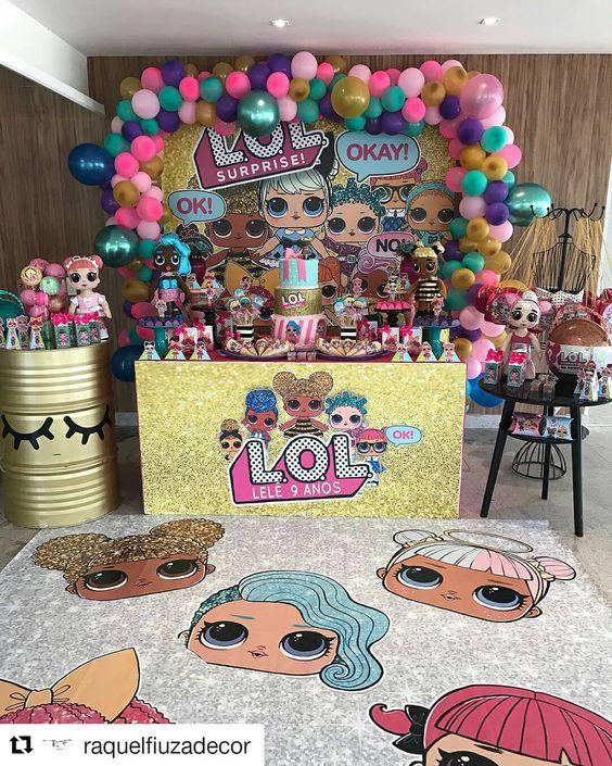 fiestas infantiles de moda de niña