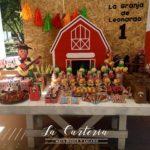 ideas bonitas para fiestas de La granja zenon