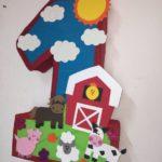 piñata para granja zenon