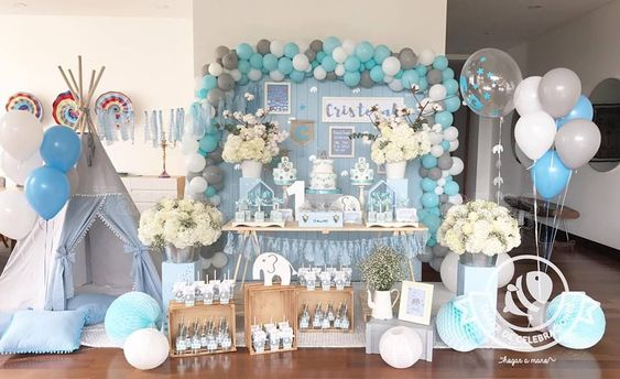 Baby Shower Nina Elefante Decoracion.Temas De Baby Shower 2018 2019 Para Nino Y Nina