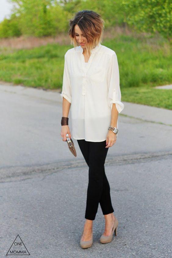Outfit casual para mujeres maduras