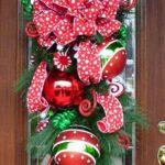 adornos navideños para puertas