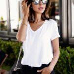blusas blancas para damas