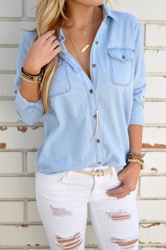 Blusas casuales de moda para mujeres
