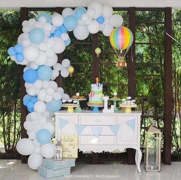 Bouquet de globos para fiestas