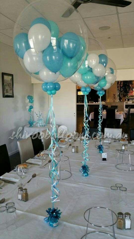 bouquet globo centro de mesa