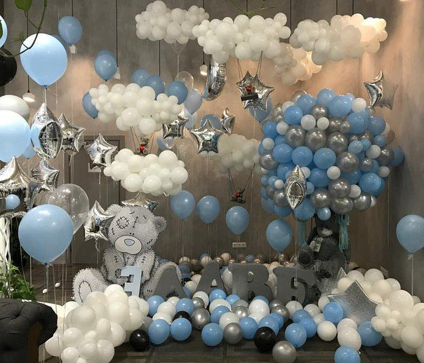bouquet globos baby shower