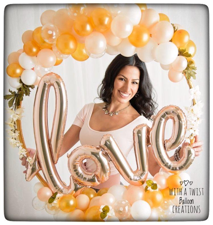 bouquet globos boda